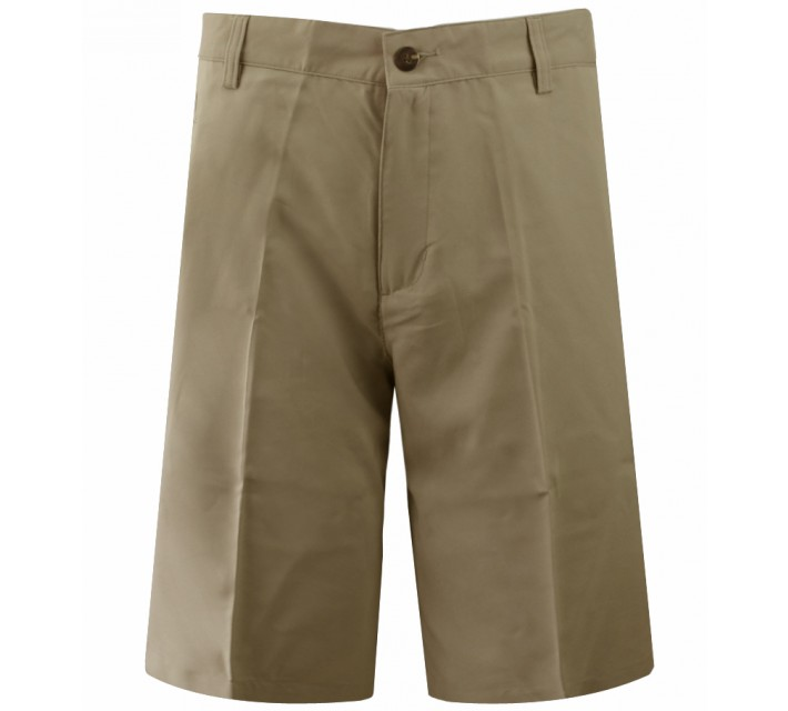 ADIDAS CLIMALITE 3-STRIPE TECH SHORT KHAKI- CORE