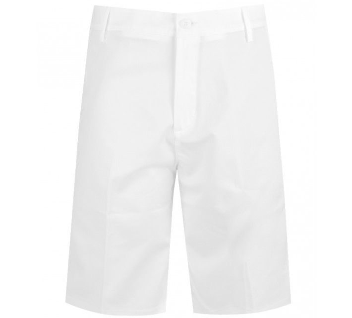 ADIDAS FLAT FRONT SHORT WHITE - SS16