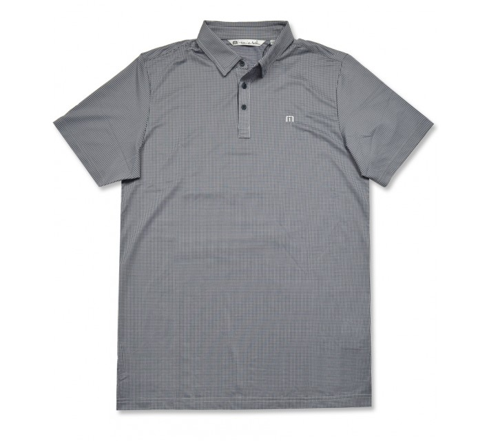 TRAVISMATHEW ZIM GOLF POLO DRESS BLUES/MICROCHIP - AW16