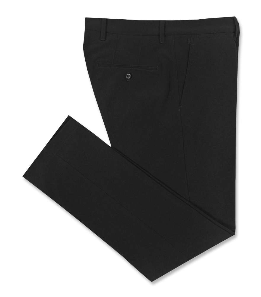 J. LINDEBERG ELLOTT BONDED MICRO STRETCH PANT BLACK - AW16