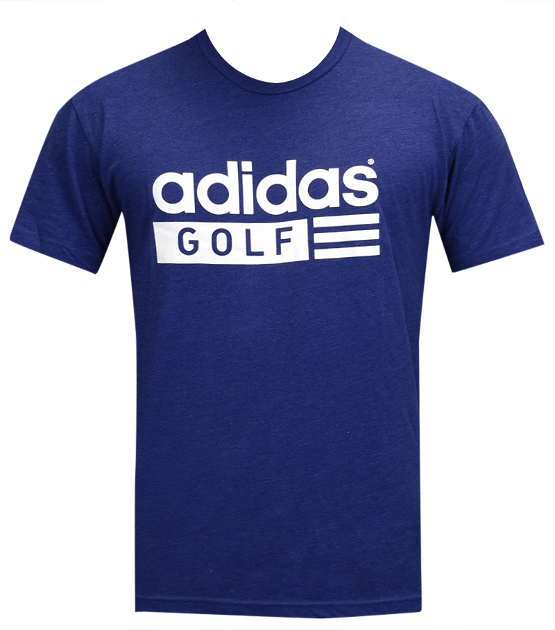 ADIDAS GOLF GRAPHIC LOGO TEE ROYAL BLUE - AW14 N62324