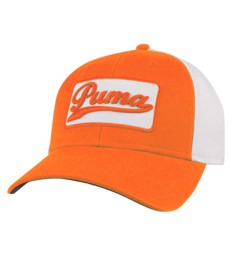 PUMA GREENSKEEPER ADJUSTABLE CAP VIBRANT ORANGE - AW15 908285-05