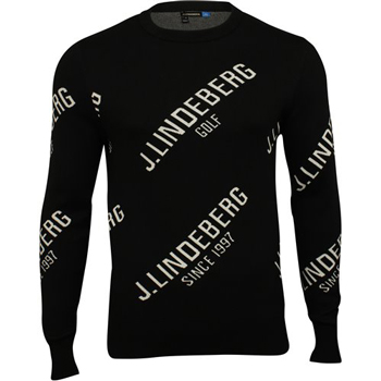 J. Lindeberg Alya Coolmax Sweater in Black
