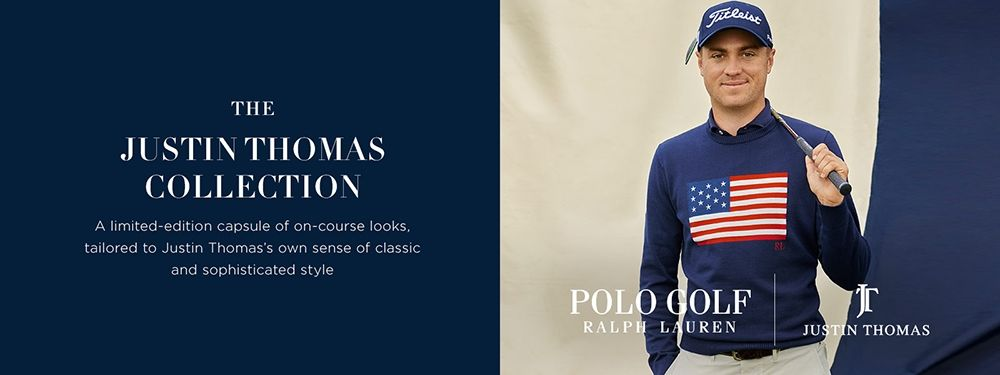 d8516017c Polo Ralph Lauren has teamed up with RL Ambassador, Justin Thomas, for a  limited edition collection launching in June 2019. Thomas will be wearing  pieces ...