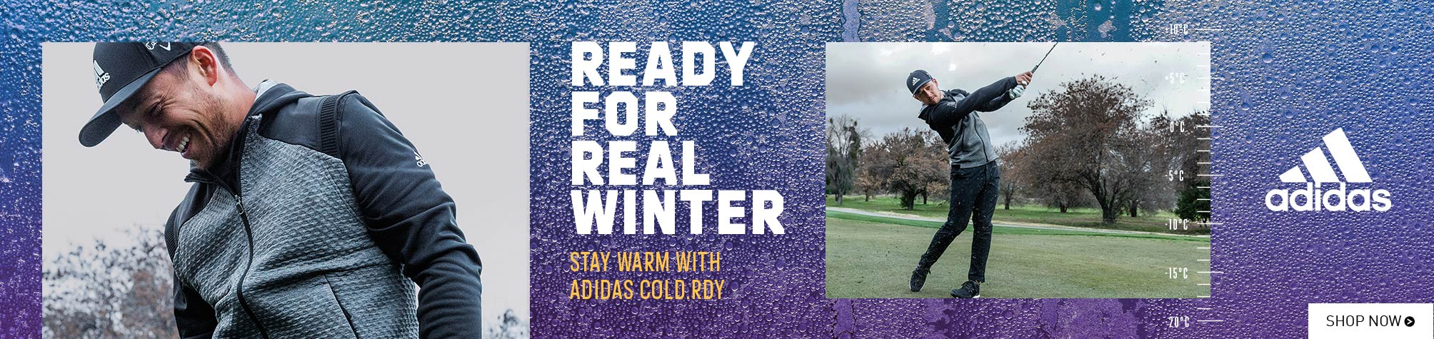 Stay Warm with Adidas Cold.Rdy