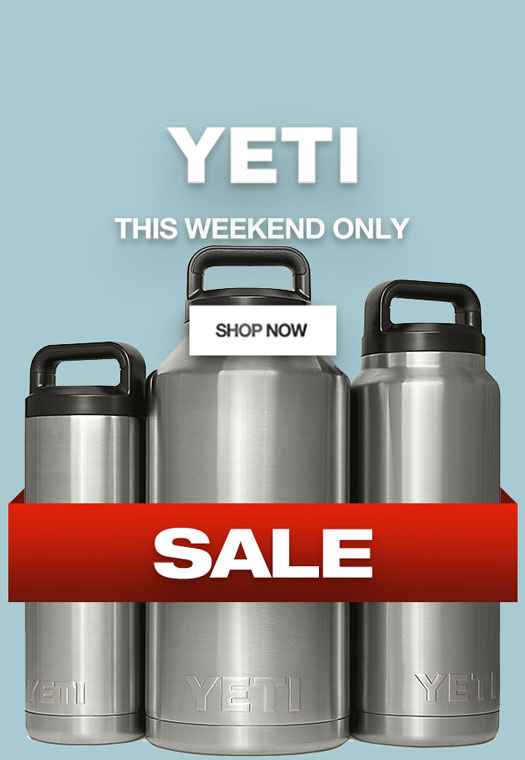 This weekend only: YETI Sale