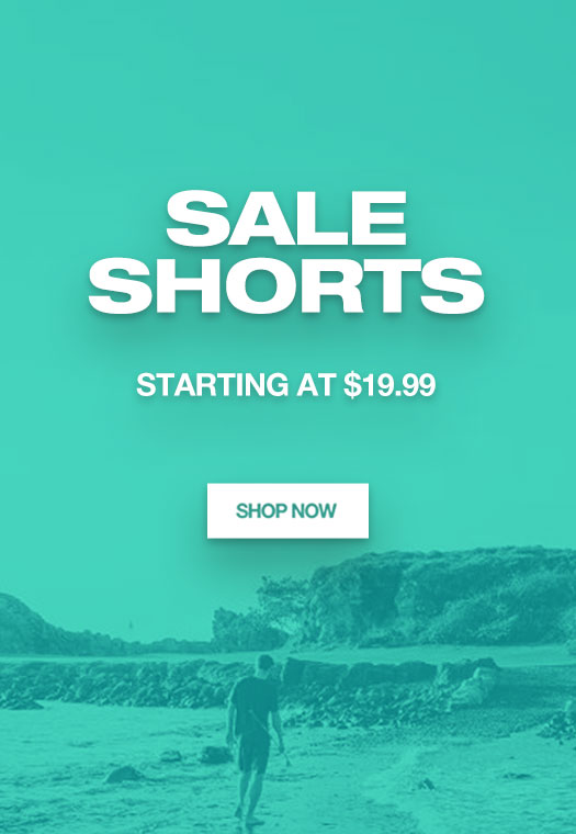 Sale Shorts: Starting at $19.99