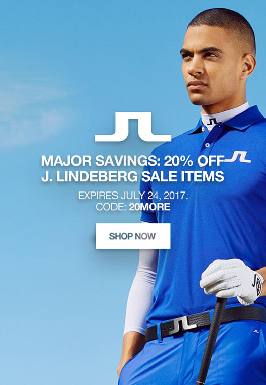 Major Savings: 20% Off J. Lindeberg Sale Items