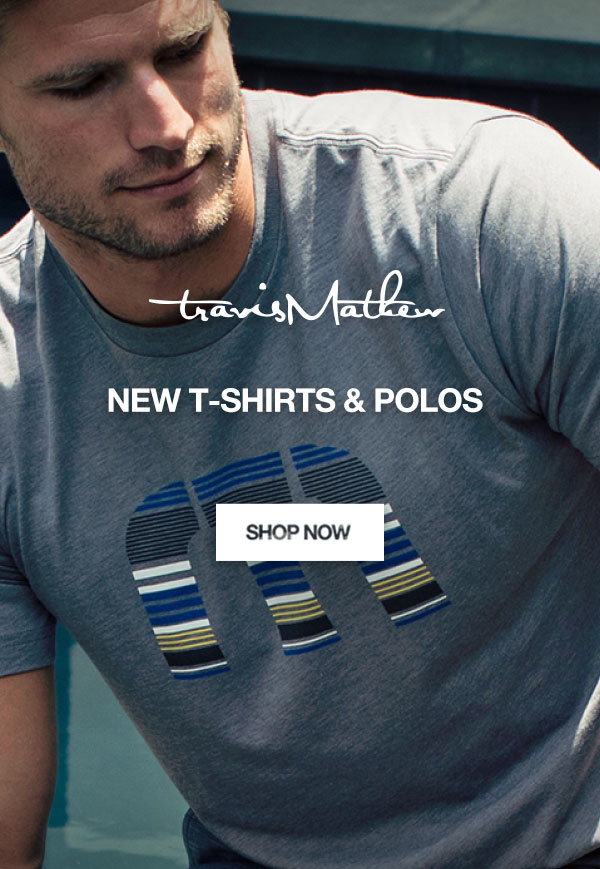 New T-Shirts & Polos From TravisMathew