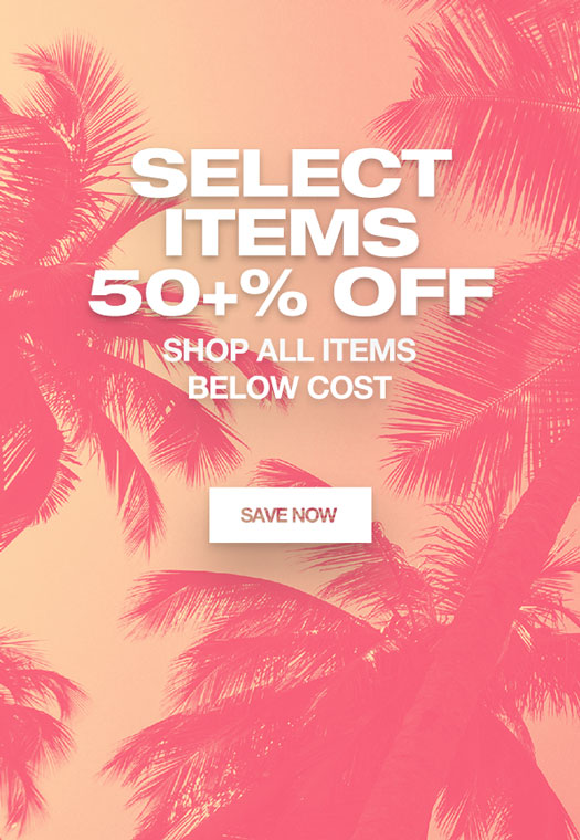 Select Items 50+% Off