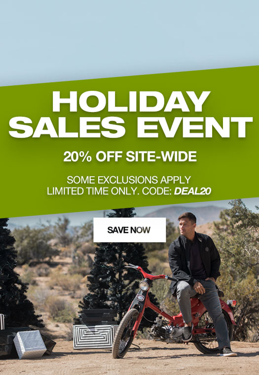 Holiday Sales Event | 20% Off Site-Wide | Code: DEAL20