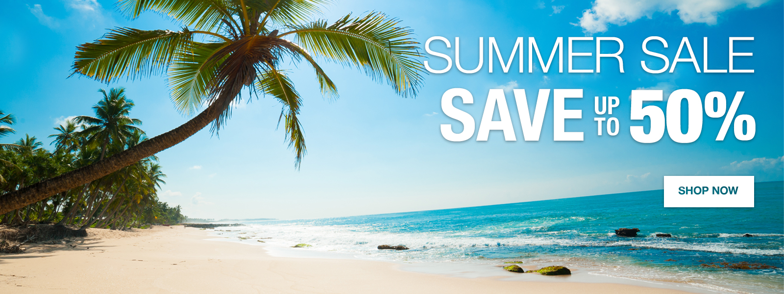 Summer Sale-Save up to 50%