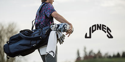 Jones Sports Iconic Golf Bags with a Vintage Flair