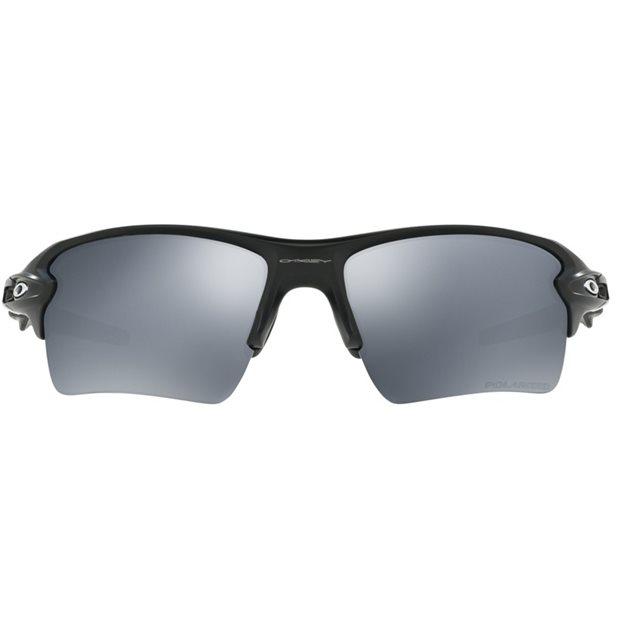 ac2ebdbea4ab4 Oakley Flak 2.0 XL Sunglasses in Matte Black Black Iridium Polarized Lens  Mfr. Close-Out