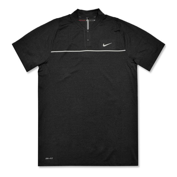 Tiger Woods Velocity Max Swing Knit Stripe Shirt