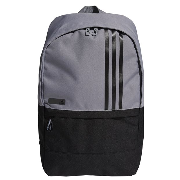Adidas 3-Stripes Small Backpack Luggage in Grey Black 8be00d64f5267