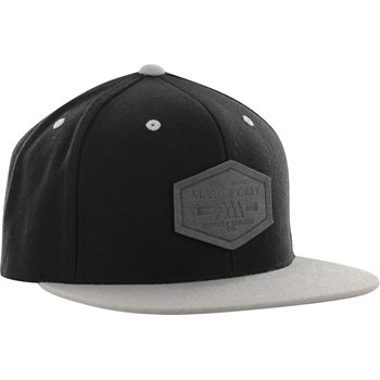 257c299208d Matte Grey Hex Badge Snapback Headwear