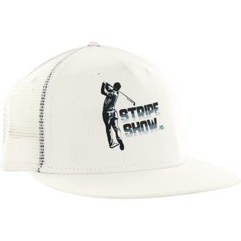 9551d98a Matte Grey Stripe Show Trucker Headwear