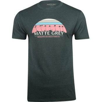 01b6b3ec Matte Grey 9 Palm Sunset Shirt