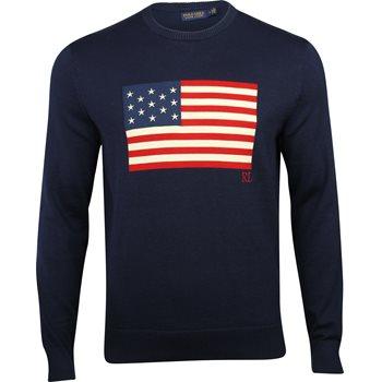10eb85fb Polo Golf Justin Thomas Thermocool Flag Sweater