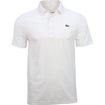 Lacoste ultra dry tech polo white