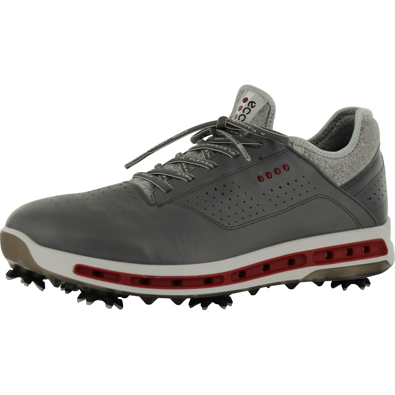 a425b610 ECCO Cool 18 GTX Golf Shoe in Dark Shadow/Black Transparent