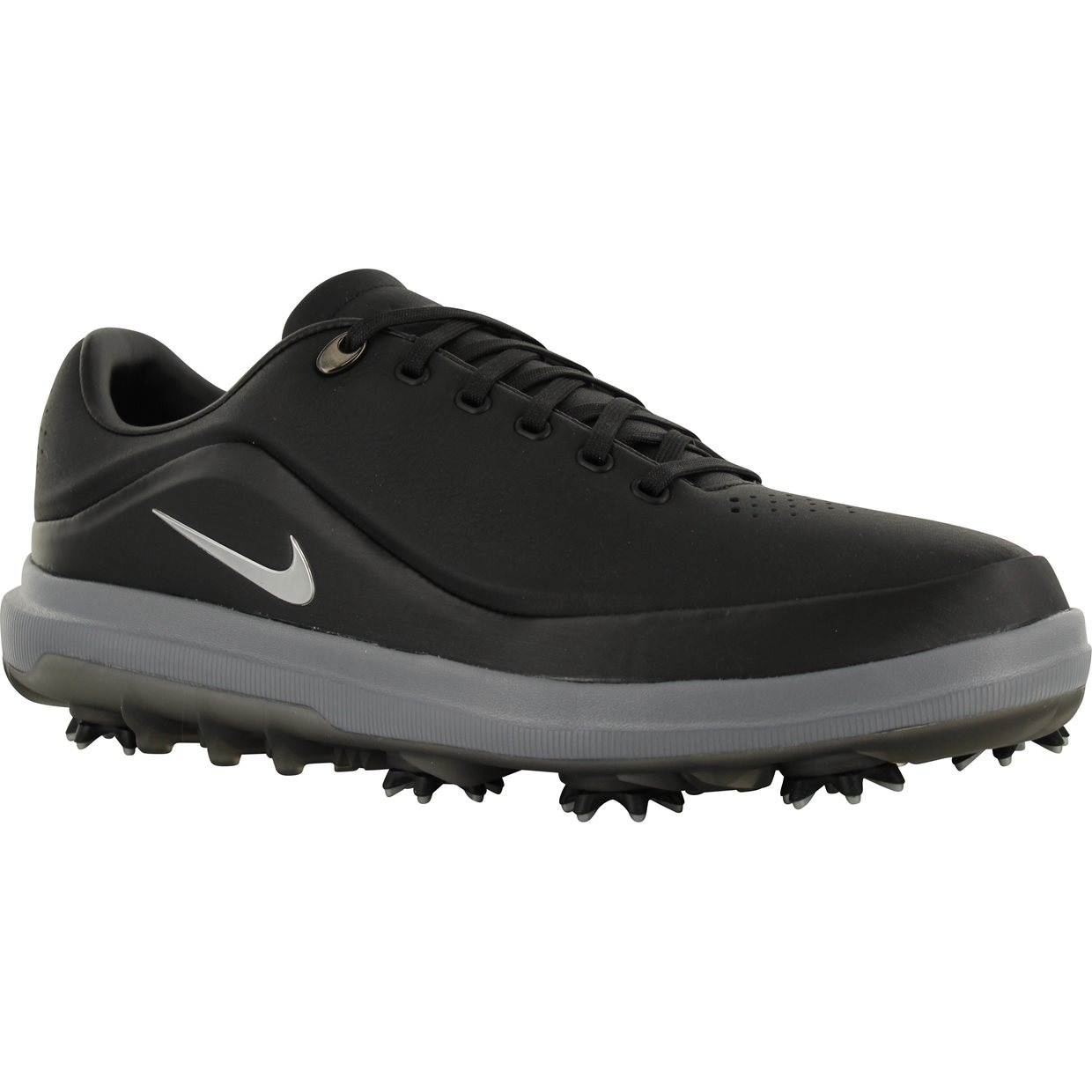 63e9db238 Nike Air Zoom Precision Golf Shoe in Black Metallic Silver Red