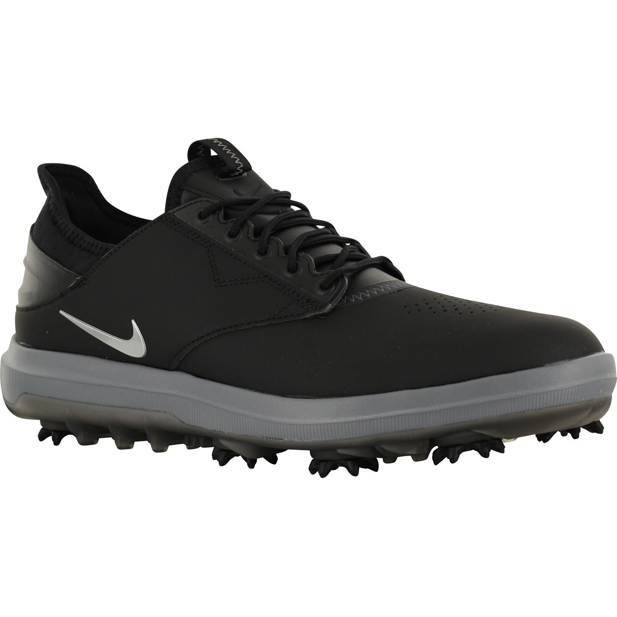 25bb59f42944 Nike Air Zoom Direct Golf Shoe in Black Metallic Silver Red
