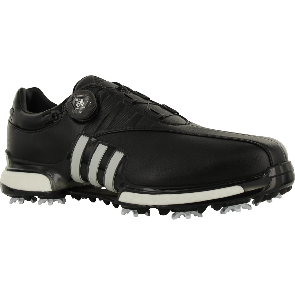 2351e3470f8b Adidas Tour360 EQT Boa Golf Shoe in Black White Black