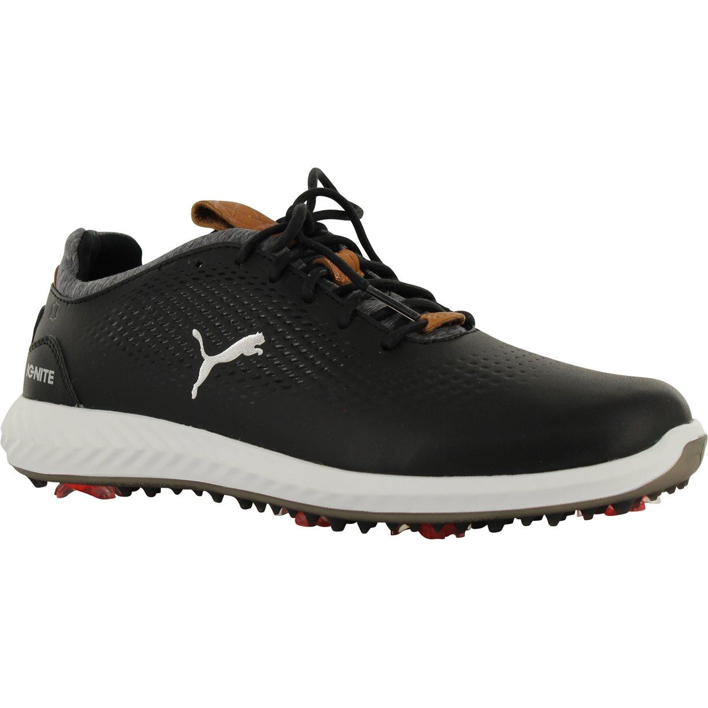 Puma Ignite PWRAdapt Jr Golf Shoe in Black Mfr. Close-Out fb9f90048