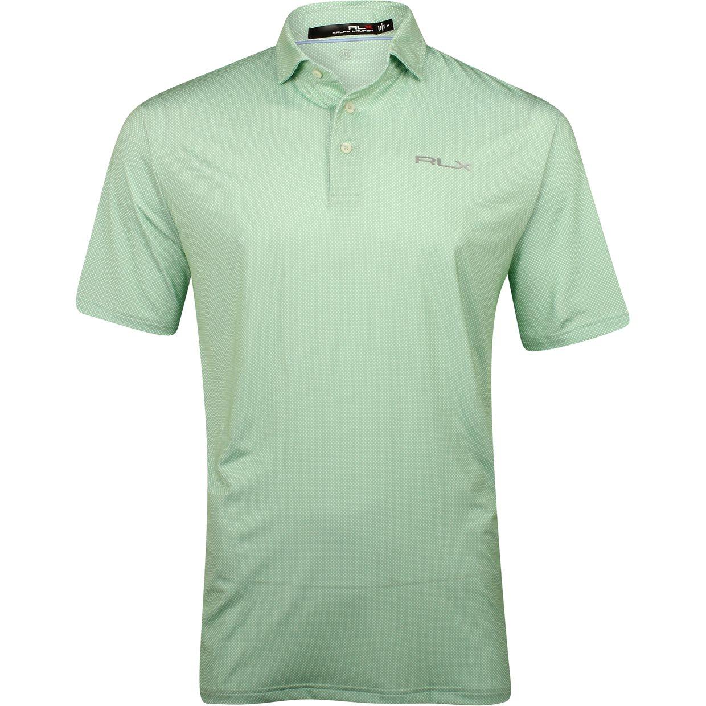 Rlx Golf Printed Lightweight Airflow Jersey Shirt Fairwaystyles