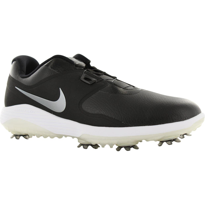 9df5efc2768338 Nike Vapor Pro Boa Golf Shoe in Black Metallic Cool Grey