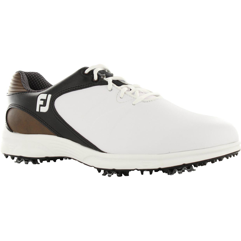 b22f44d9ff3ae FootJoy FJ Arc XT Golf Shoe in White/Black/Brown