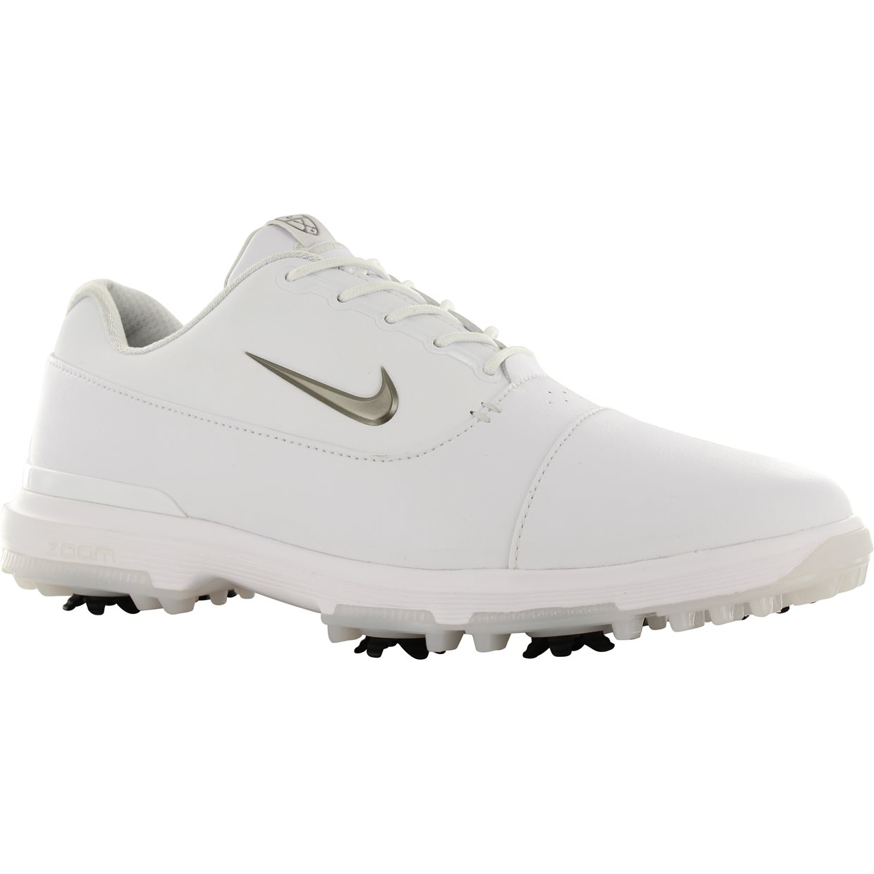 f51900a2f00f Nike Air Zoom victory Pro Golf Shoe in White Metallic Pewter Vast Grey