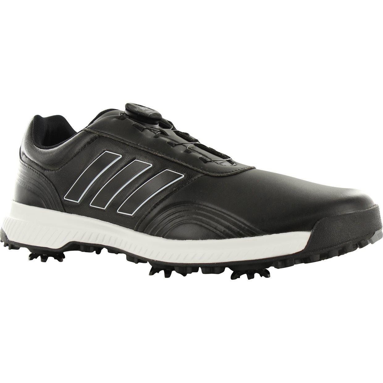 32396fd617c Adidas CP Traxion BOA Golf Shoe in Black White Silver Metallic
