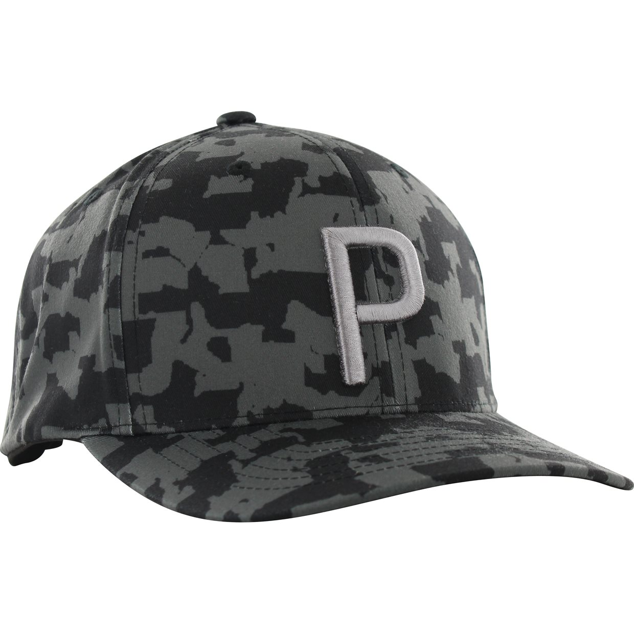 d62781e6b3759 Puma Union Camo 110 Snapback Headwear in Puma Black Camo
