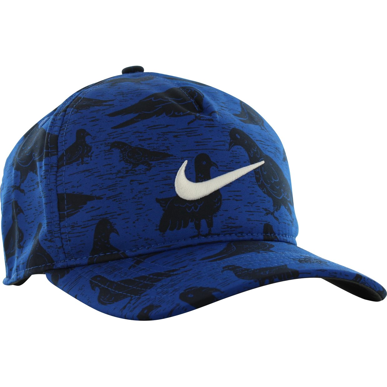 c0434ccc Nike Aerobill Classic 99 PGA Printed Headwear in Indigo Force/Sail