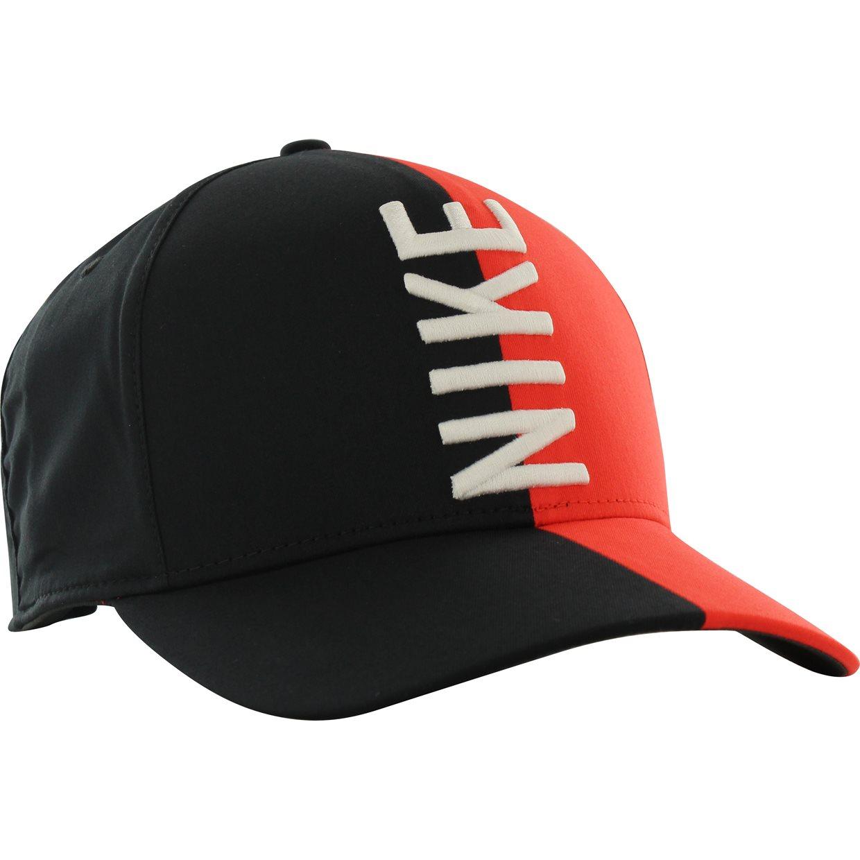 5dbda4affa2db Nike Aerobill Classic 99 Majors Headwear in Black Habanero