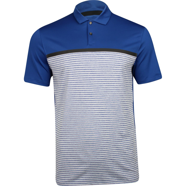 d63bd91a Nike TW Dri-Fit Vapor Stripe Block Shirt in Gym Blue/Pure Platinum